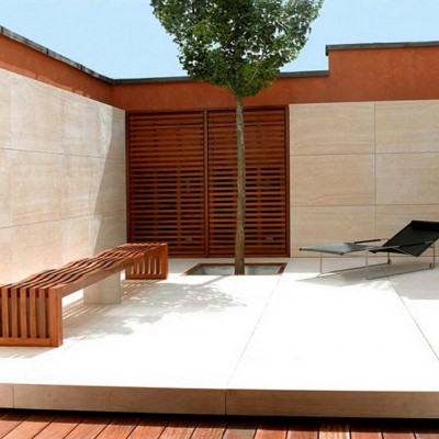 Private house, London - Travertine