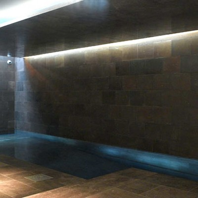 Private house, London - Brown Basalt swimming pool