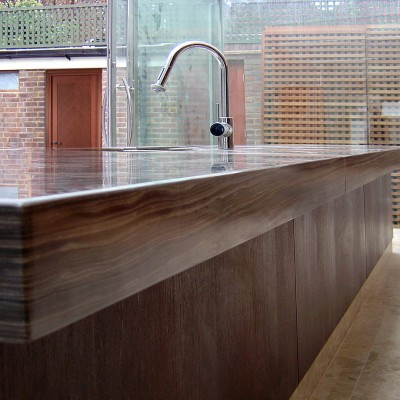 Private house, London - Canadian Brown Kichen top