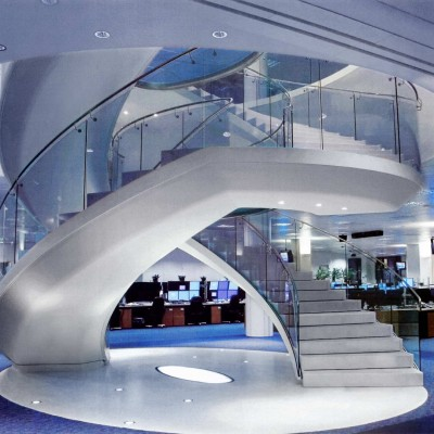 Barclay Capital, London - Bianco P, staircase